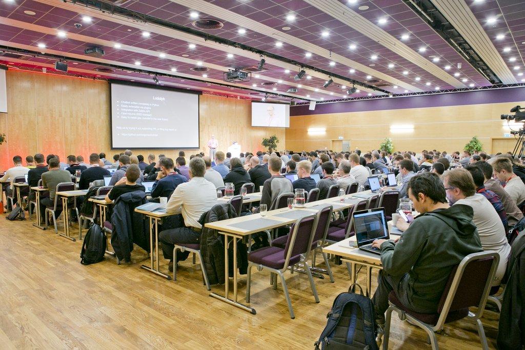 Zabbix Conference 2017 hall