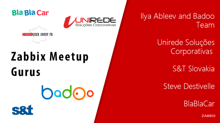 Meetups presentation slide