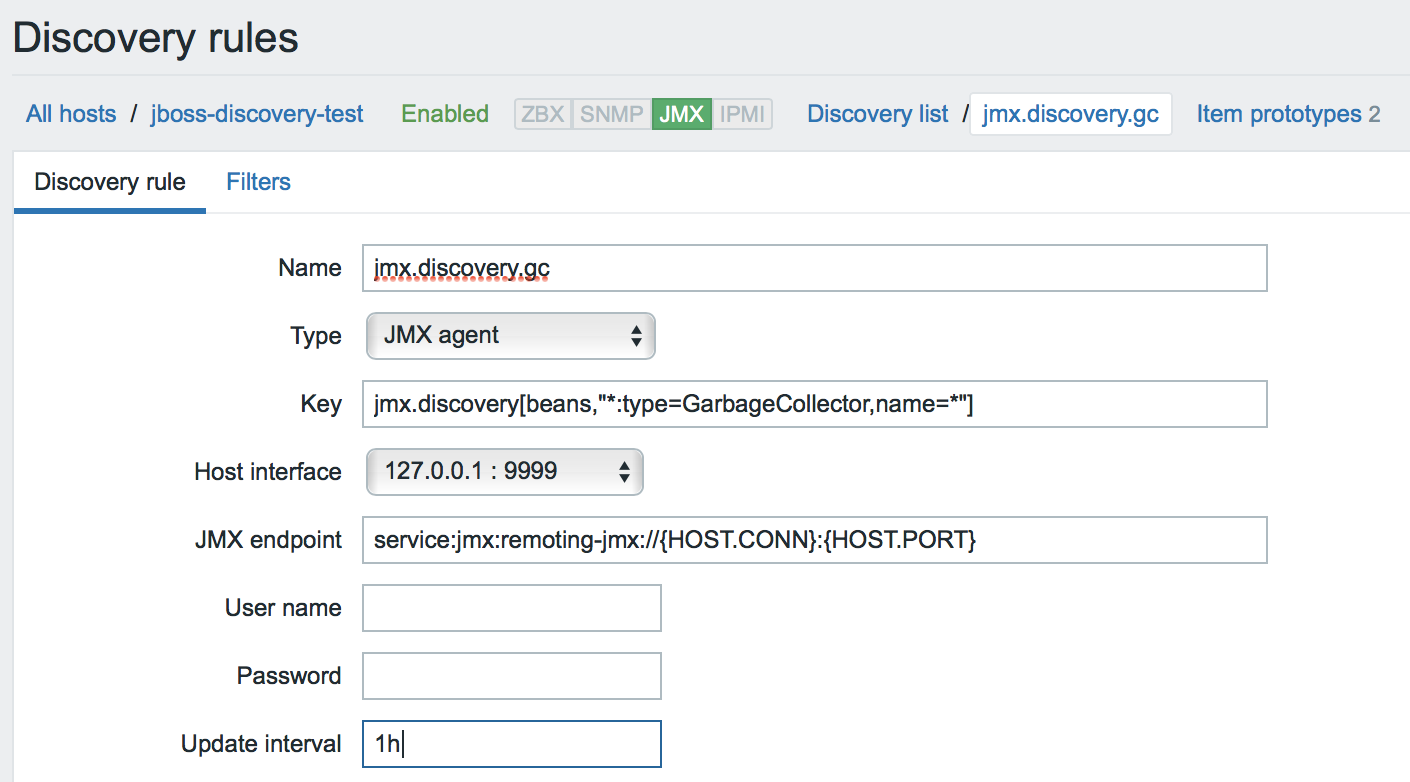 New Monitoring Possibilities for Java Applications in Zabbix 3 4