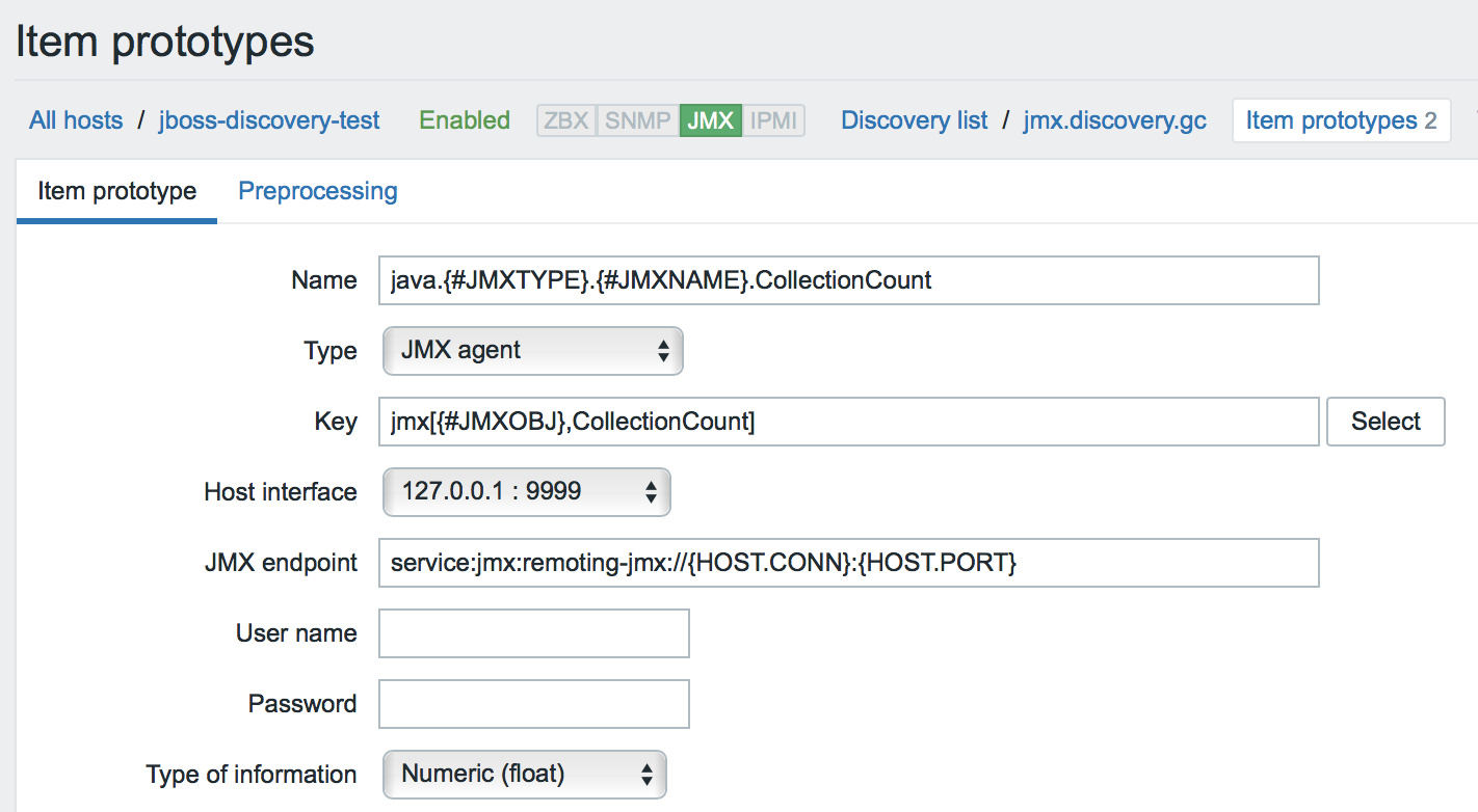 New Monitoring Possibilities for Java Applications in Zabbix