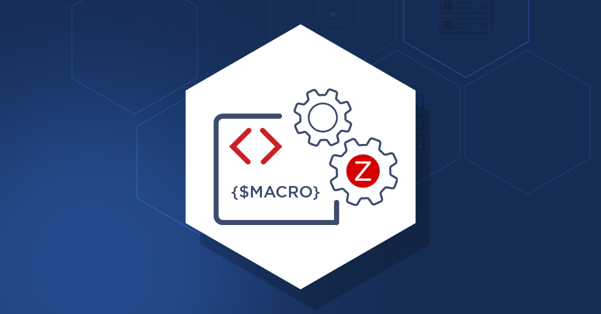 Zabbix macro
