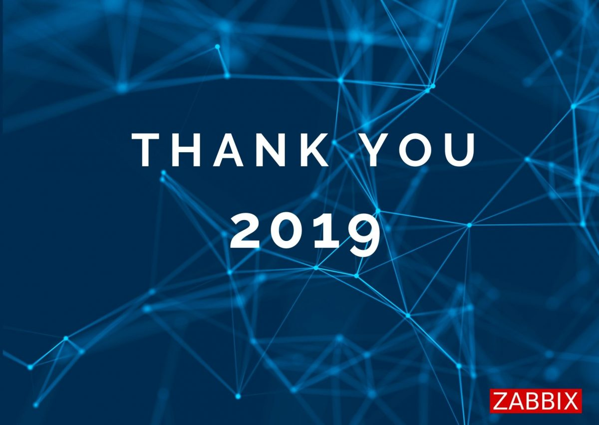 Thank you, 2019!