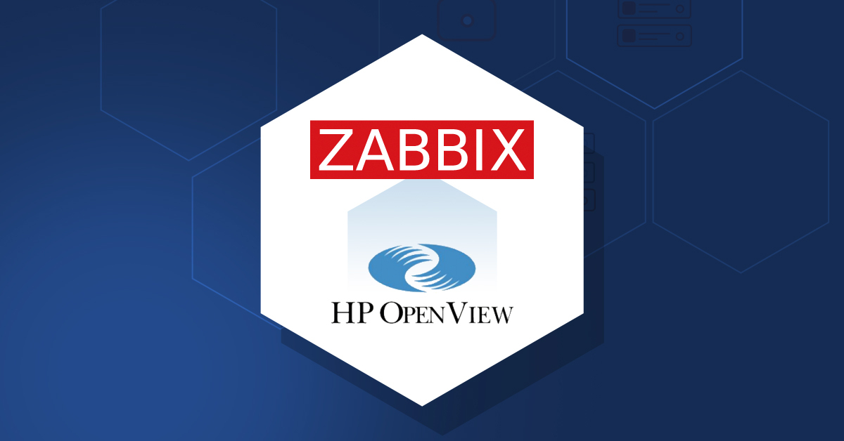 HP OpenView migration to Zabbix