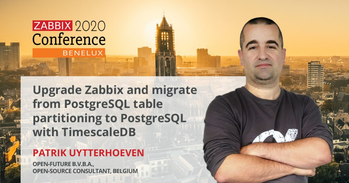 Being an open-source minded in a closed source world. Interview with Zabbix Conference Benelux 2020 speaker Patrik Uytterhoeven.