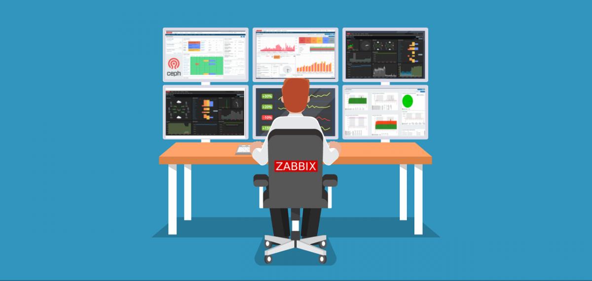 Ceph Storage Monitoring with Zabbix