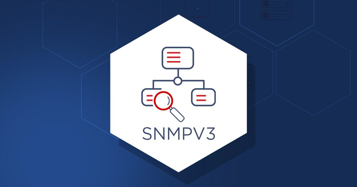Monitoring network hardware with SNMPv3 in Zabbix